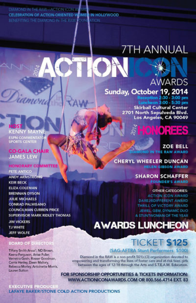 ACTION ICON AWARDS 2014