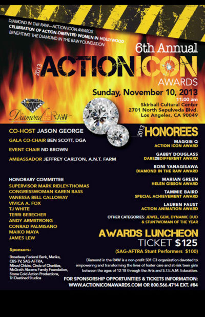 ACTION ICON AWARDS 2013